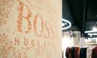 Typography, Hugo Boss Orange Concept Store, Hugo Boss AG, Projekttriangle Design Studio