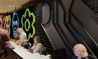 Pixel Wall at Registration Desk, IDSA Annual Meeting, Industrial Design Society of America, Ziba Design