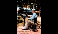 Testing Accessibility, Johns Hopkins i-Site Information Kiosk, Johns Hopkins University, Cloud Gehshan Associates