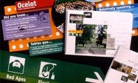 Informational Signage and Materials, Los Angeles Zoo Master Plan, Hunt Design Associates