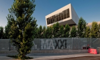 Typography on Security Fence, Maxxi National Museum of XXI Century Arts, ma:design SRL