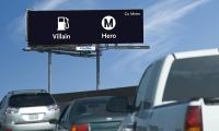 Outdoor Advertising, Metro Opposites Campaign, Los Angeles County Metropolitan Transportation Authority, Metro Creative Services