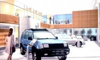 Interior of Dealership, Nissan, Nissan North America, Lippincott and Margulies