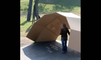 One Sheltering from the Sun, Day Poem Pavilion, Art Center College of Design, Jiyeon Song
