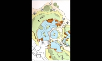 Map, Asian Tropics Exhibit Master Plan, Denver Zoo, ECOS Communications