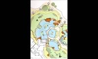 Map, Asian Tropics Exhibit Master Plan, Denver Zoo, ECOS Communications