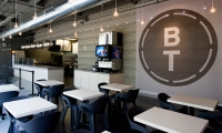 Logo and Wall Graphic, B&T Pizza, Kuhlmann Leavitt