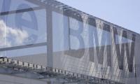 Transparency of Mesh Sign, Rallye BMW Facade, HLW International LLP