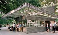 Lettering, Shake Shack, Madison Square Park Conservancy, Pentagram