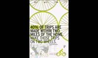 Poster Promoting Bike Trails, VeloCity, University of Washington, Erin Williams