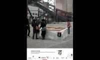 30 Models at Pavilions, Zeche Zollverein Wayfinding, Landesentwicklungsgesellsutag (LEG Research and Development Company), F1RST DESIGN