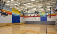 Colors in Gynmasium, Achievement First Endeavor Middle School, Achievement First, Pentagram