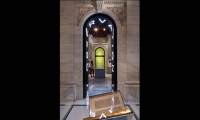 Entry into Observation Section, Celebrating 100 Years, New York Public Library, Pentagram Design