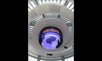 Rings Raising into Ceiling, Dubai Mall Catwalk, Emaar, Square Peg Design