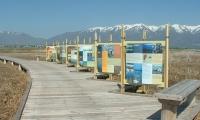 Signage, Great Salt Lake Shorelands Preserve, The Nature Conservancy, Utah, Sea Reach Ltd.