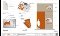 Vestibule Signage Plan, Home Depot Design Center, Home Depot, Little