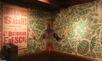 Corner Wall Art, Mad Mex Fresh Mexican Grill, Holy Cow! Design & Advertising