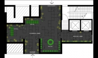 Plan, Mellon Town Residential Lobby, Gemdale Corp., One Plus Partnership