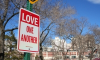 """Love One Another"", Signs of Love/Signs of the Holidays, We Love This Place!, The Glenn Group"