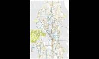 Seattle Bicycling Guide Map, VeloCity, University of Washington, Erin Williams