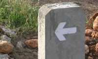 Directional Arrow, Forgotten Cities Hiking Trails, Swiss Agency for Development and Cooperation, PenguinCube SAL