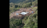 Aerial View, Isurava Memorial, Office of Australian War Graves, Hewitt Pender Associates