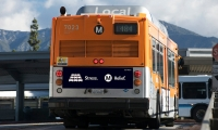 Bus Signage, Metro Opposites Campaign, Los Angeles County Metropolitan Transportation Authority, Metro Creative Services