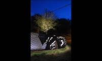 Lit Up At Night, Monastery Street Park, South Side Slopes Neighborhood Association, Loysen + Kreuthmeier Architects