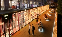 Outdoor Digital Wall, Think: An Exploration Into Making The World Better, IBM, Ralph Appelbaum Associates, SYPartners, Mirada