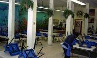 Before Improvements, St. Vincent de Paul Free Dining Room, Debra Nichols Design