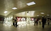 Lights in Walkway, X exhibition, Shenzhen Graphic Design Association, SenseTeam