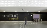 Exhibit Entrance, Skin,  Pavilion of Knowledge, P-06 Atelier, JLCG Architects