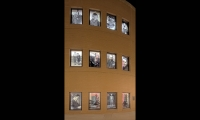 Wall With Photographs, Archiving Memory, University of Minnesota, Coyne Photography + Design
