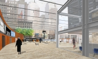 Pavilion, Downtown NYC: A Proposal for Lower Manhattan, Cassandra Tai-Marcellini, Pratt Institute