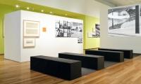 Sitting Area, Eero Saarinen: Shaping the Future, Museum of the City of New York, Cooper Joseph Studio