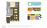 Layout, Forkchop Restaurant, James Tsai, Academy of Art University