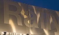 Spotlights Illuminating Sign, Rallye BMW Facade, HLW International LLP