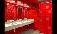 Restroom Design, Universal Studios AMC Cinema Graphics, Universal Studios Hollywood, Sussman/Prejza & Company
