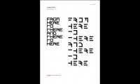 Urban Tales Shadow Typography, Massey University, College of Creative Arts, Katie Bevin