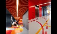 Floor Graphics, ANZ Centre, ANZ, Fabio Ongarato Design, HASSELL, Lend Lease Design