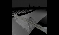 Williamsburg Bridge, Cascading Columns, Christian Marc Schmidt, Yale University School of Art