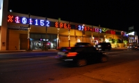 Cars Pass By Interactive Lights, Drive By, J.H. Snyder Company, Electroland LLC