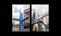 Entry Signage, Duke Energy Center, City of Cincinnati Department of Transportation and Engineering, Sussman/Prejza & Company, LMN Architects