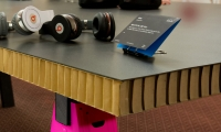 Cardboard Tabletop, IDSA Annual Meeting, Industrial Design Society of America, Ziba Design
