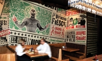 Wall Art, Mad Mex Fresh Mexican Grill, Holy Cow! Design & Advertising
