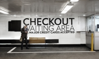 Waiting Area, Parking at 13-17 East 54th Street, Cohen Bros. Realty, Pentagram