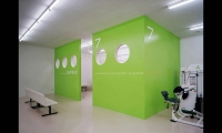 Therapy Room, San-Ai Clinic Color and Signage Design, San-Ai Kai Medical Corp., MED