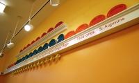 Plat Rails, St. Vincent de Paul Free Dining Room, Debra Nichols Design