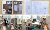 Retaining the historic fabric of place, while keeping the signage quiet was the goal from this renovation of a landmark building to a library.