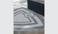 Each block also included identifying granite seating reinforcing the family aesthetic.